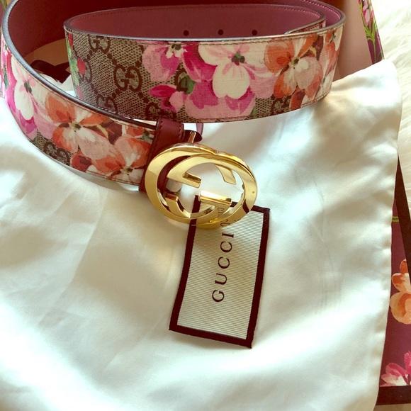 152fda8292c Gucci Accessories - GG Blooms Belt